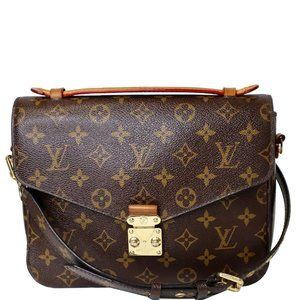 LOUIS VUITTON Metis Pochette Monogram Canvas Cross